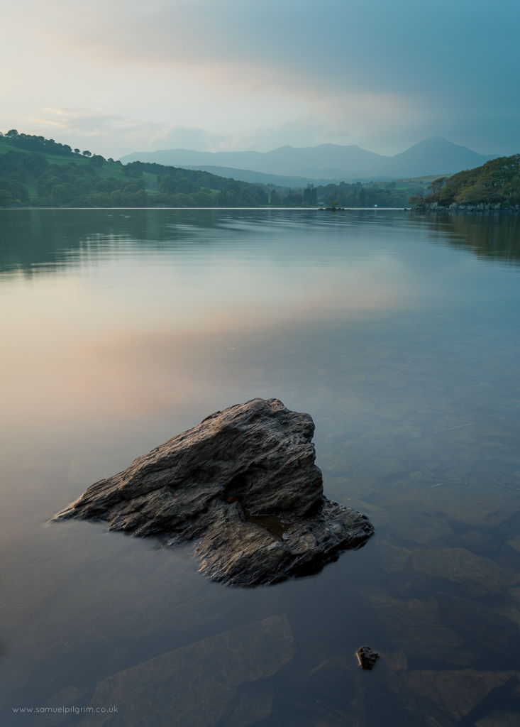 Low Peel Near Dusk Coniston Water September 2014 Canon 5DIII with 17-40mm lens ISO100, 25mm, f/14, 1.0s