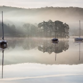 Dawn on Coniston Water